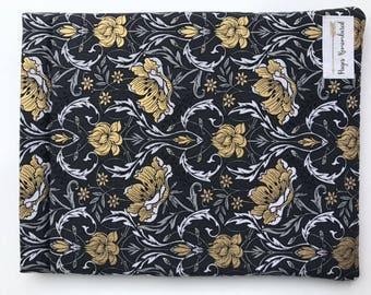 Gold and Black Damask Keepers