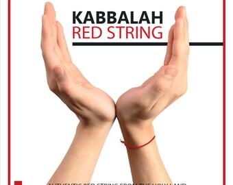 5 Pcs Original Kabbalah Red String Bracelet  Blessed Wrist Evil Eye Rachel Tomb From ISRAEL