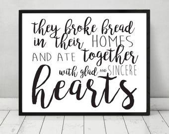 Broke Bread Together
