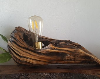 Lamp from design modern and rustic