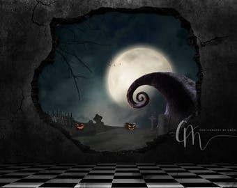 Nightmare inspired background