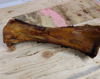 1 Pack of EXTRA LARGE Smoked Beef Bones for Large Dogs All Natural Pet Treats