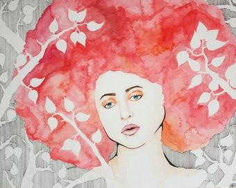 Fashion Portrait in Pink