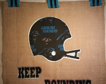 Panthers ribbon Etsy