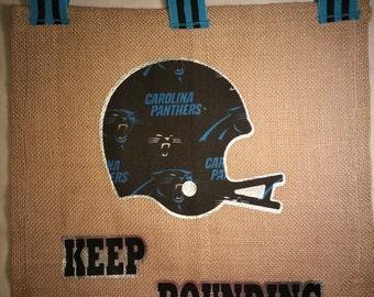 Panthers ribbon Etsy