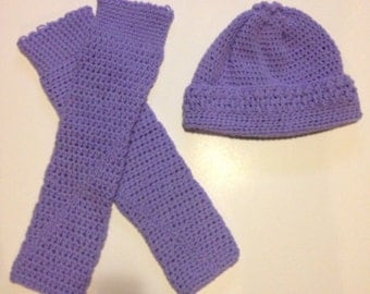crochet boot socks/hat