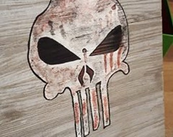 Punisher Skull Painting