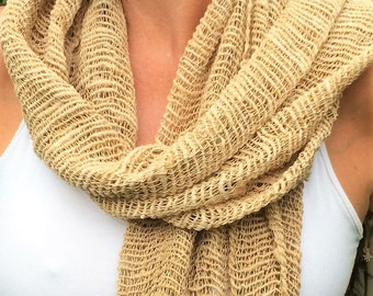 100% Organic Cotton Scarf