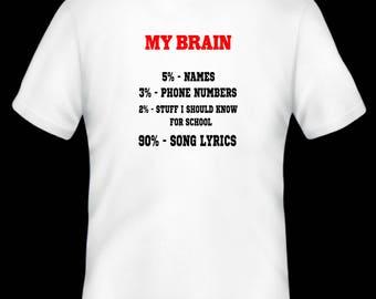 My Brain T-shirt