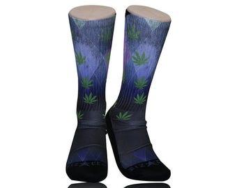Handmade Sublimated Socks style Loud Argyle