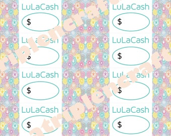 PRINTABLE Cash - Filigree Design - Digital Download (contact me if you want CUSTOM Cash)