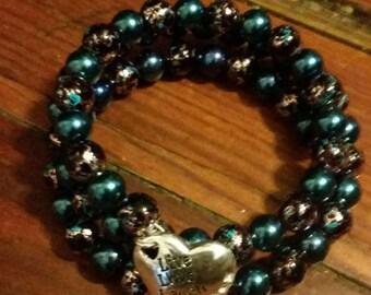 Gorgeous Live Love Laugh Bracelet