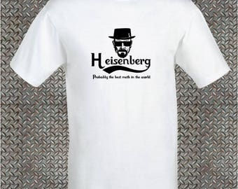 Breaking Bad Printed T_Shirt Walter White Heisenberg