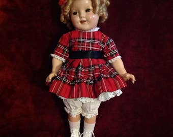 1930s Shirley Temple Doll ~ 18""