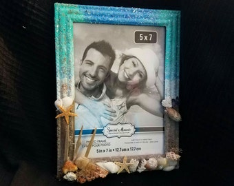 Beach Themed 5x7 picture frame