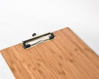 Bamboo Clipboard