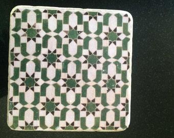 Handmade Moroccan coasters