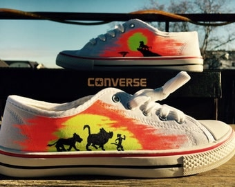 Possible painted sneakers - the Lion King bright - as-painted chucks