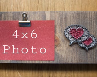 String Art Photo Holder - Free Shipping