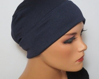 Lightweight night/sleep/long Beanie many colors ideal for chemotherapy alopecia Mineralize