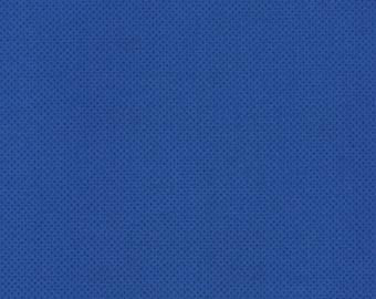 Timeless Treasures Pindot Royal Blue Fabric 100% cotton SALE, polkadot fabric, blue dot fabric 1 yard