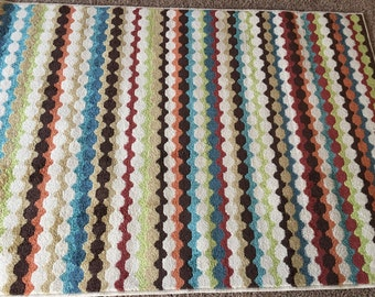Multi colored Rug  (4 x 6) Free Shipping