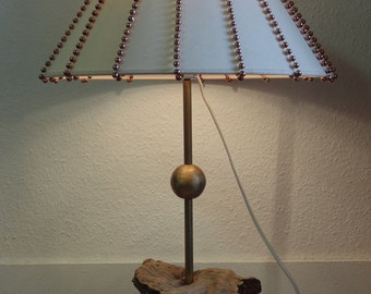 Lamp wood floating beads