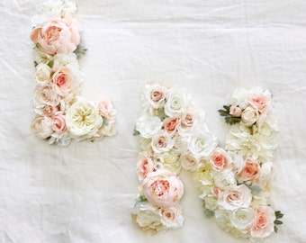 Floral Initial Letters