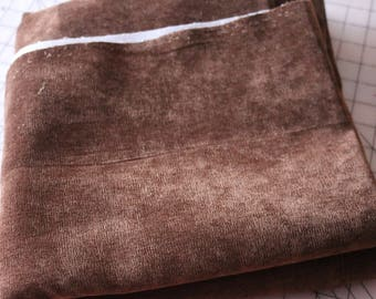 4 Upholstery Fabric Velvety Brown 4