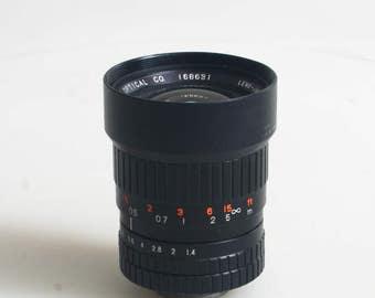 Fujinon F 1.4 12.5Mm Tv Lens I C Mount I For 16Mm Movie Camera