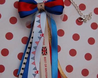 British themed Palnner tassel