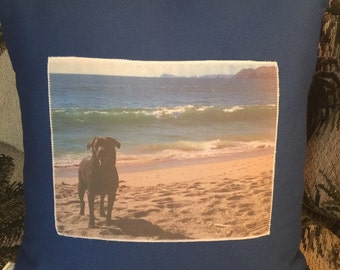 """Custom Made Photo Pillow 11"""" by 15"""""""