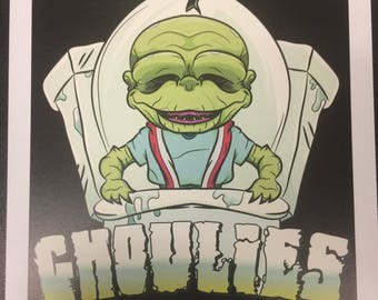 Ghoulies - Art Print by Jason Gilmore
