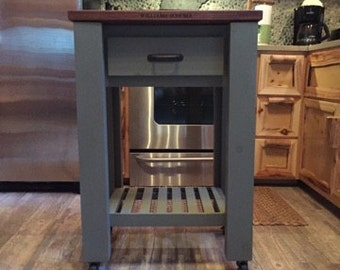 Portable Kitchen Island Cart