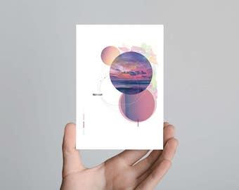 Paradise Affair Postcard Print Art