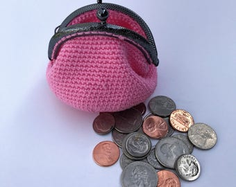 Crochet coin purse by Almaly