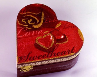 Sweetheart Jewel Case Gift