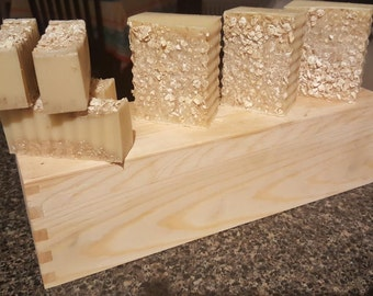 Honey & Oatmeal Soap--All Natural--Ready to Ship 7/10