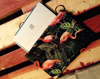"Dress handkerchief ""Cali"" /housse storage for Tablet and documents"