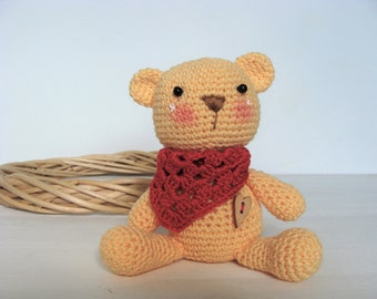 "Crochet Teddy bear ""Teddy"""