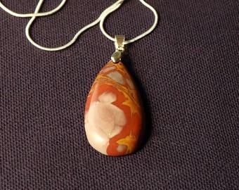 picasso Jasper pendant necklace