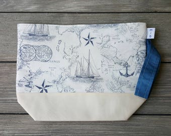 Mariner fabric project bag