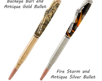 Custom Made Bullet Pens - Wood & Acrylic