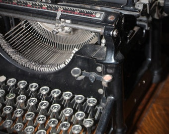Underwood Typewriter Number 5 last patent July 1913
