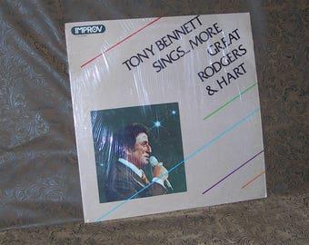 Tony Bennett/ Tony Bennett Sings More Great Rodgers & Hart/ 1977 Improv Records/ 7120/ Pop/ Chanson