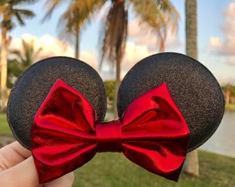 Disney Minnie Mouse Bow Hair Clip