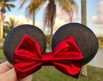 Disney Minnie Mouse Bow Hair Clip