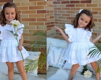 Ibizan style dress Sun DRESS for baby babies toddler girls PDF Sewing PATTERN + Youtube Tutorial*size 1 to 10 years** Spanish Design **