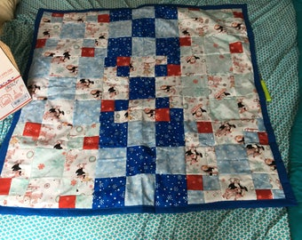 Winter fun quilt