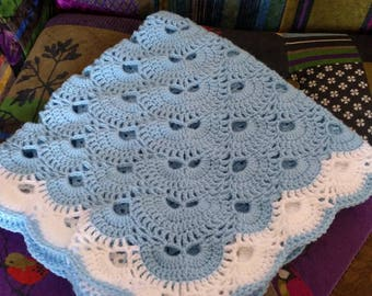 Virus pattern baby blanket